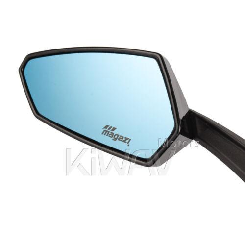 glossy black Tulip style mirrors for Suzuki Boulevard m109r V-strom GSX