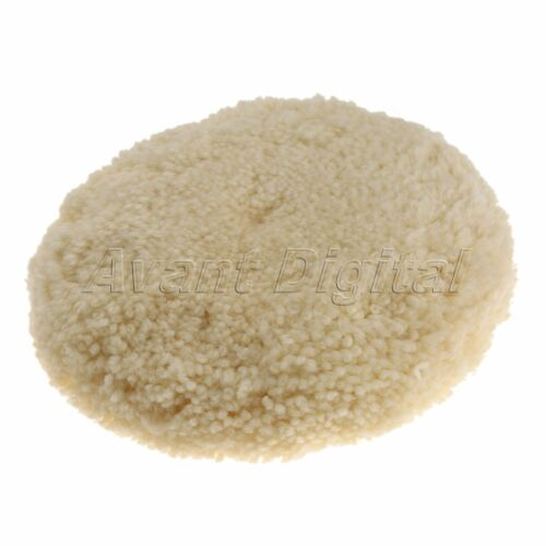 180MM 7 inch Soft Wool Polishers Polishing Buffing Pad Bonnet for Car Cleaning
