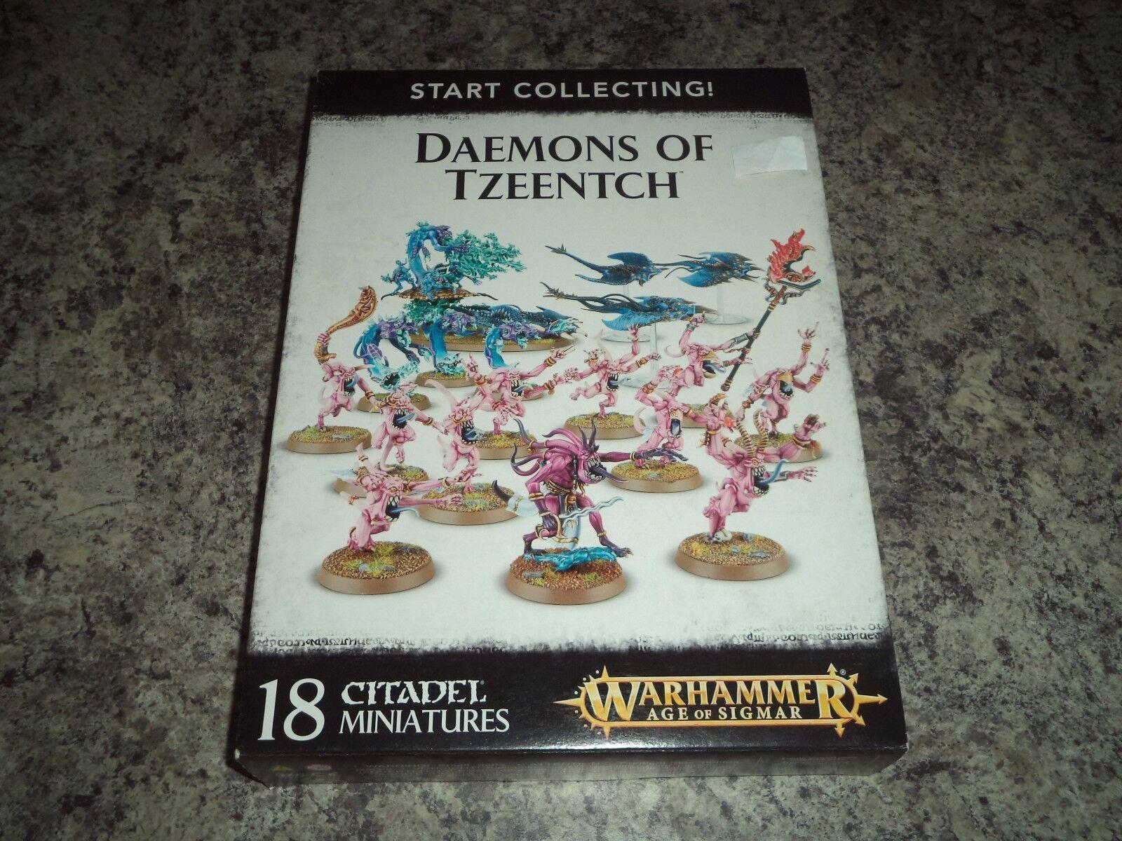 Inicio Recaudación Demonios Of Tzeentch Chaos Demons Warhammer 40k 40,000 Modelo