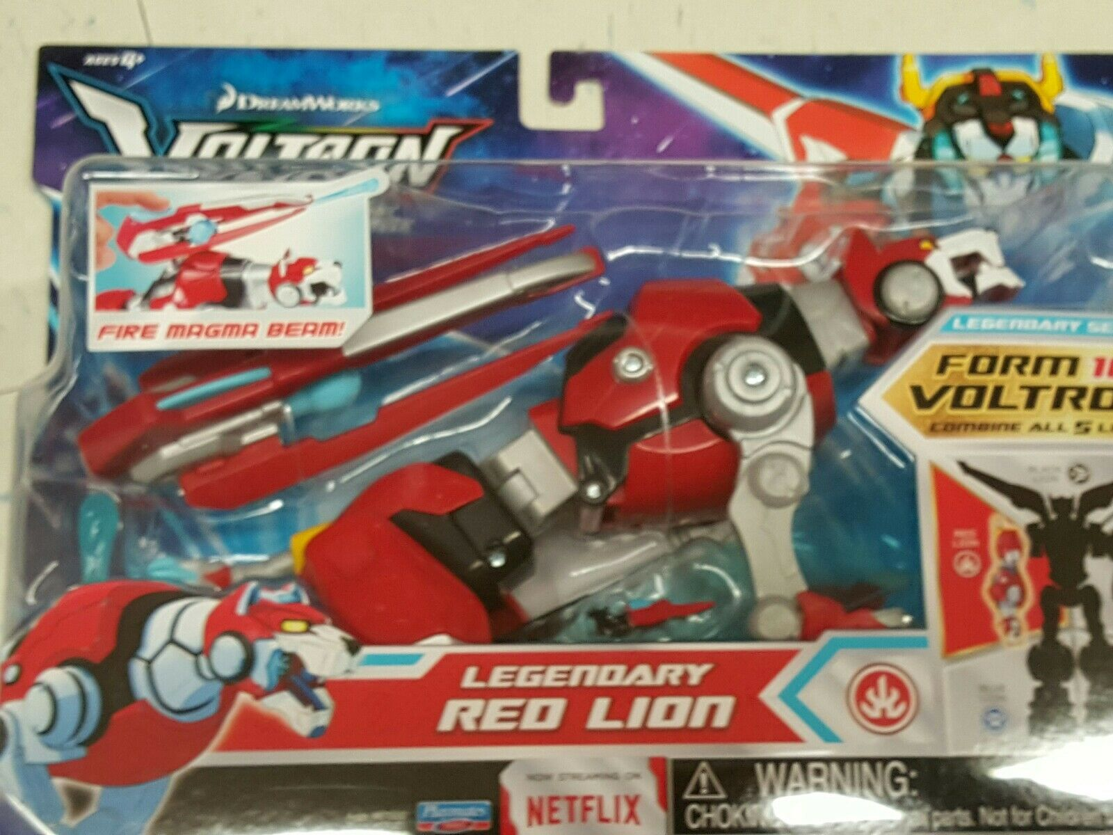 Legendary Voltron Red Lion  Limb combiner