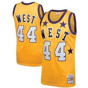 JERRY WEST LA Lakers 1972 West All Star MITCHELL & NESS Authentic ...