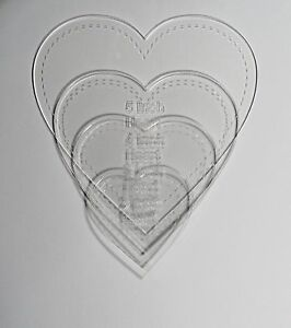 Image Is Loading 1 8 034 Clear Acrylic Laser Cut Quilting
