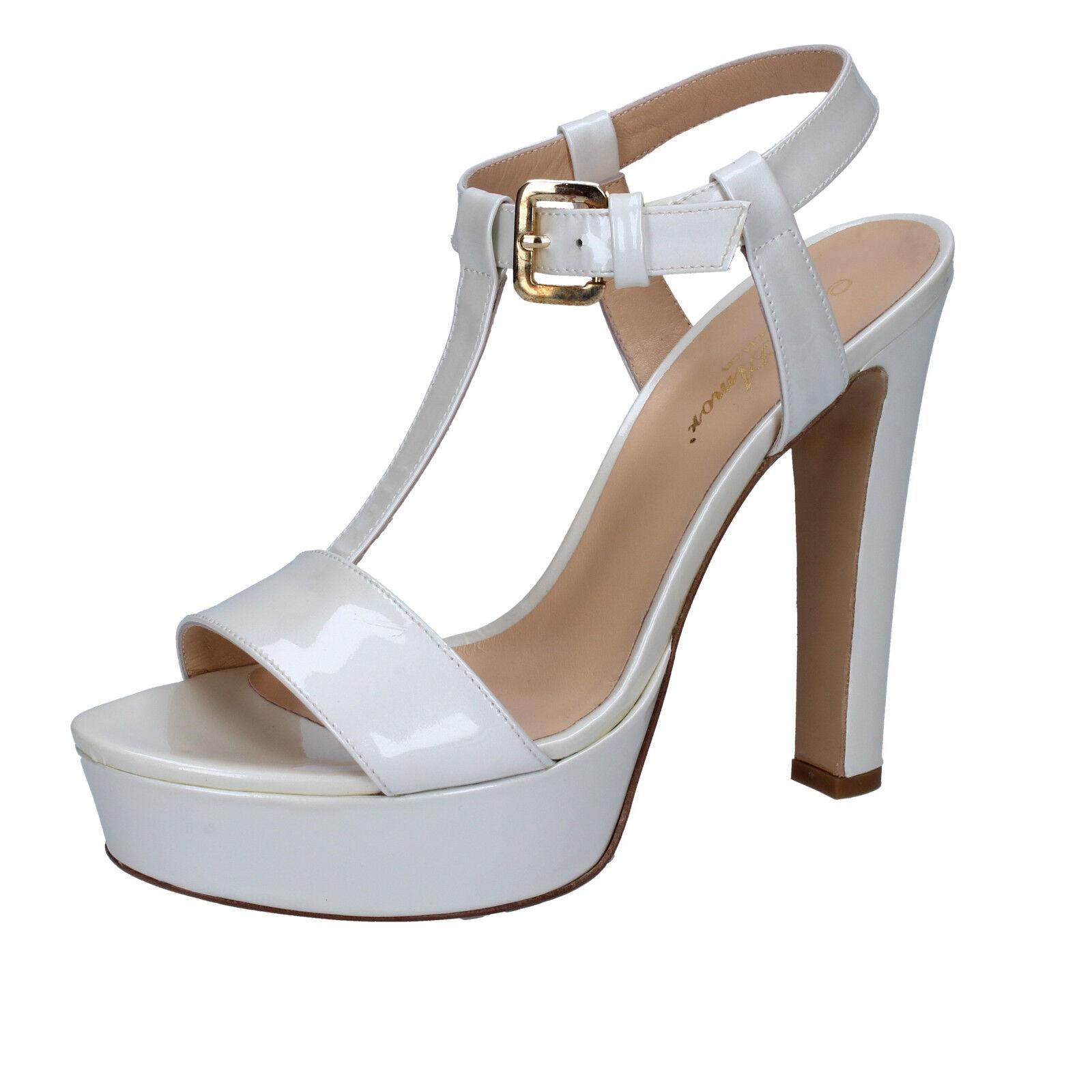 donna MI AMOR vernice 39 EU sandali bianco vernice AMOR BY167-C 2c899a