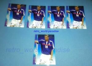Zidane-rare-new-card-new-mint-2001-card-futera-platinum-world-stars-panini