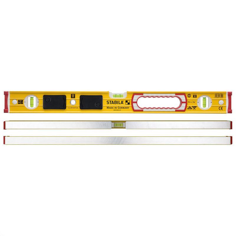 Stabila Wasserwaage 196-2 LED / 61 cm mit LED Belechtung