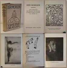 Der Morgen Allmanach des Verlages Carl Reissner zum 50jährigen Bestehen 1928 xz