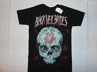 Black Veil Brides Evil Skull T-shirt S M L Xl 2xl Bvb Metal Glam Rock Horror