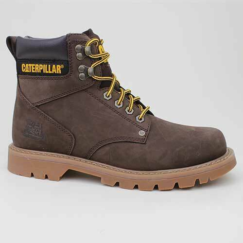 CATERPILLAR STIEFEL SECOND SHIFT BRAUN LEDER P701630 WANDER SCHUHE