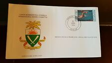 International Olympic Committee First Day Issue stamp Briefmarke Ivory Coa 1984