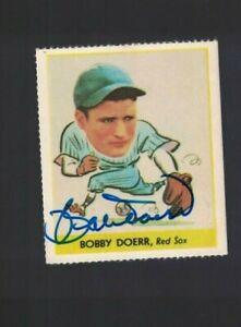 Bobby Doerr Boston Red Sox Signed Goudey Reprint Baseball Card W/Our COA