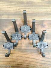 5 CAST Iron COAT Hooks  Old Style Air Ministry