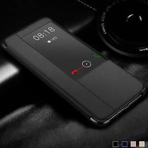 Smart View Flip Cover für Huawei Mate 20 Lite Pro X Schutz Hülle Handy Tasche