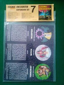 Cosmic Encounter Expansion Set # 7 1981 Nouveau