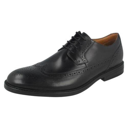 Uomo Clarks Beckfield Limitate Formale Brogue Scarpe classiche da uomo