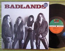 BADLANDS, SELF TITLED /BLACK SABBATH/ LP 1989 GERMANY 1ST PRESS EX+/EX+ INNER/SL