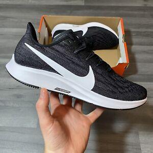 Nike-Air-Zoom-Pegasus-36-4E-Wide-Fit-Nero-Corsa-Scarpe-da-ginnastica-UK8-5-US9-5-EUR43