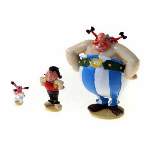 Ideafix y Pepe presionando 2355 Obelix Figura de colección Pixi Asterix 2020