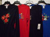 Rebecca Malone Womens Christmas T-shirts Sizes; S, L