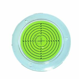 CréAtif 100 Mm Bull Eye Level Spirit Bubble Orbite Surface 0 - 6 Degré De Nivellement Zone-afficher Le Titre D'origine