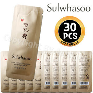 Sulwhasoo-Concentrated-Ginseng-Renewing-Serum-1ml-x-30pcs-30ml-Sample-Newist