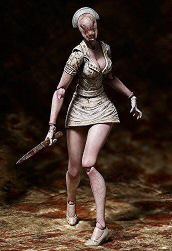 Figma SP-061 Silent Hill 2 Bubble Head Nurse Freeing Action F/S Japan Figure