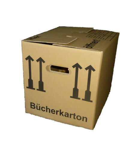 """/""""/""""10 Bücherkartons Ordnerkartons Umzugskatons Falkartons PROFI AS30002/""""/"""""""