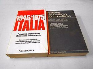1945-1975-ITALIA-Resistenza-REALISMO-NEOREALISMO-CONTROREALISMO-Muscetta