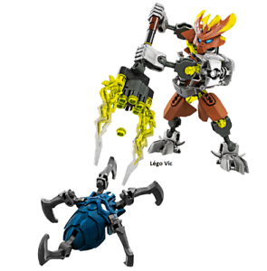 C252 Lego 70779 Bionicle Protector of Stone complet de 2015