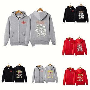 Slipknot Fans HOODIE Men Hooded JACKET Zipper Sweatshirts Unisex Warm Coat Gifts