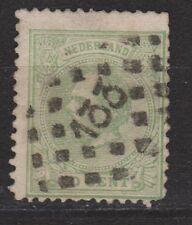 NVPH Netherlands Nederland 24 TOP CANCEL ZUTPHEN (133) Willem III 1872