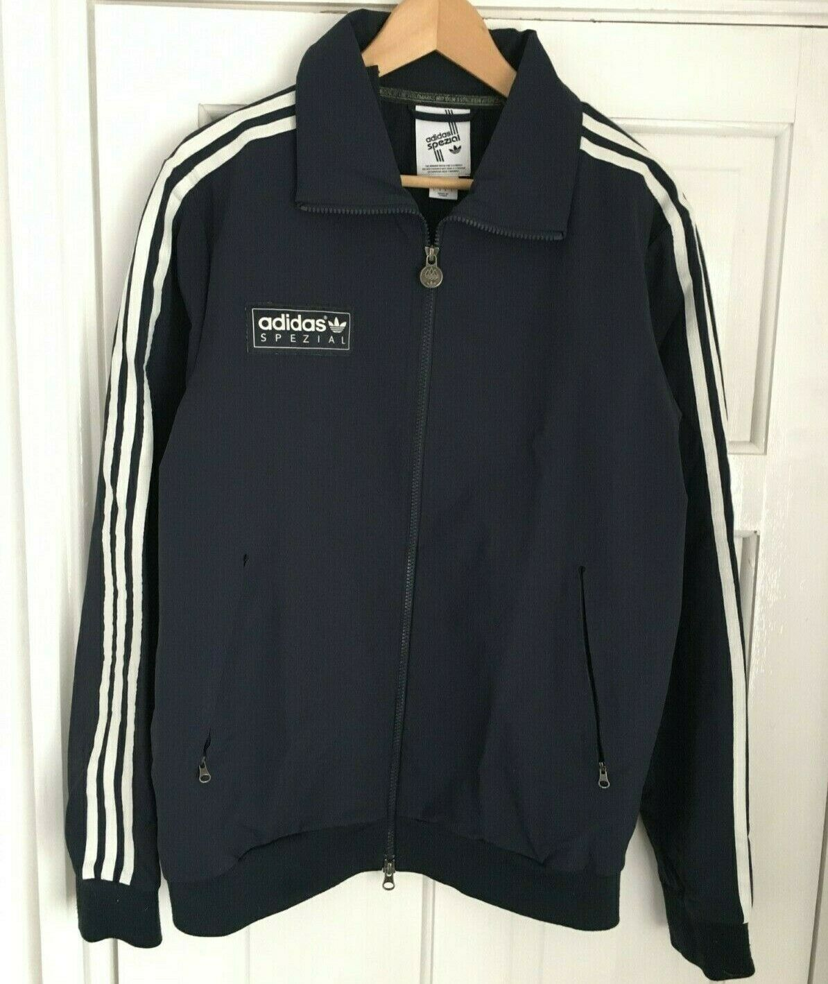 Adidas Spezial Forest Gate Track Jacket Tracktop Navy Bq2552 Mens Sz 2xl Xxl For Sale Ebay