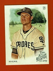 2019-Topps-Allen-amp-Ginter-Wil-Myers-245-San-Diego-Padres