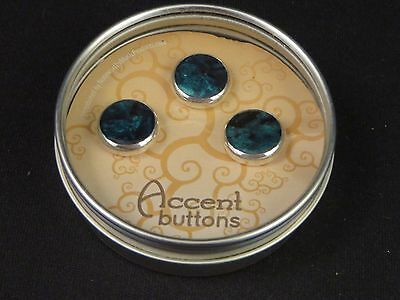 Bach Silver Custom Trumpet Buttons by Noteworthy Music Products Abalone NEW!