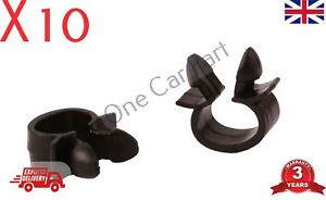 10x peugeot bmw cable pipe clamp wires wiring loom harness clip rh ebay co uk BMW Wiring Harness Chewed Up BMW Seat Wiring Harness Diagram
