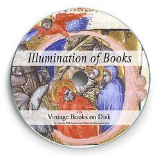Books Illumination on DVD Illuminated Manuscripts Calligraphy Nib Art Set Ink 19