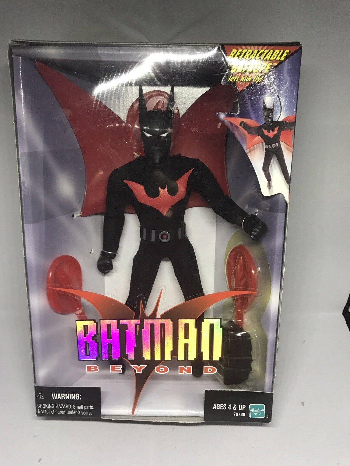 Batman Beyond 9  Présentoir Figure Avec Rétractable Batcorde & Batarang Hasbro 99 New in Box