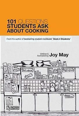 101 Questions Students Ask About Cooking by May, Joy (Paperback book, 2010)