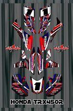 TRX 450R graphics Honda 450 ATV sticker kit FREE Semi Custom Service SE3