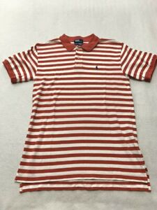 Ralph Lauren Boys Striped Pony Logo Polo Shirt Tee 7
