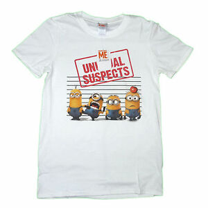 Ideal Gift or Birthday Present. Mens T-Shirt Minions Mario Unusual Suspects