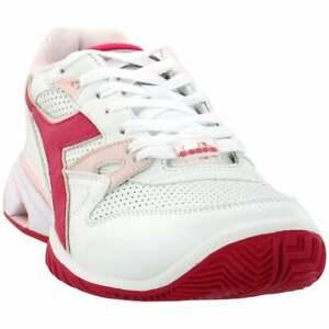 Diadora-S-Star-K-Ace-AG-Casual-Tennis-Shoes-White-Womens