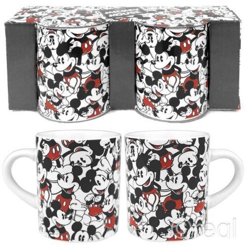 Neu Disney Marvel Comics Dupliziert 2er Set Mini Becher Espresso