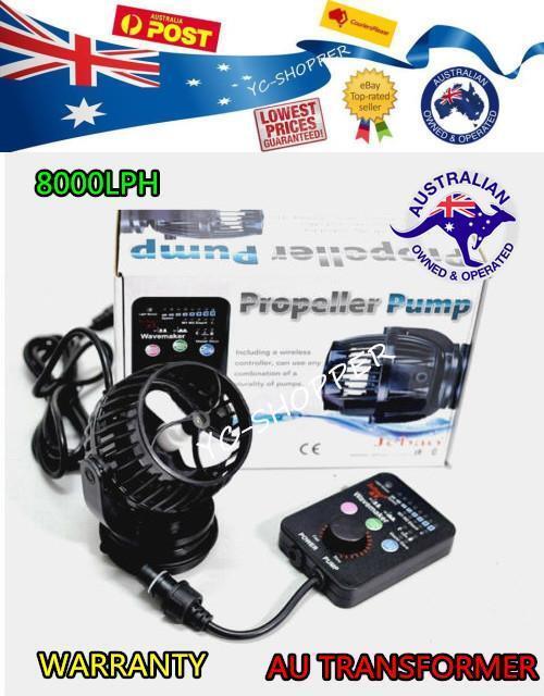 New Model Jebao Jecod SW8 Aquarium Wireless Wireless Wireless Wave Maker Powerhead 8000LPH 7bb187