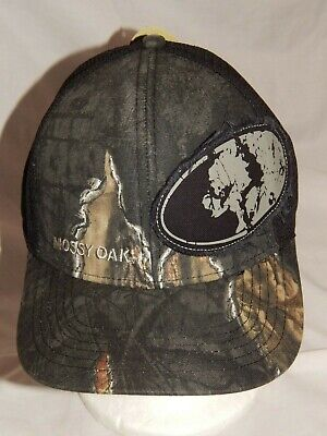 NEW Realtree Hat Slouch Trucker Cap Camo Deer Hunting Stretch Fit Men/'s S//M L//XL