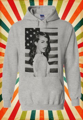Lana Del Rey Pop Singer Star Song Men Women Unisex Top Hoodie Sweatshirt 728