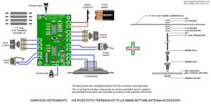 Harrison-Instruments-102-Minimum-Theremin-Kit-with-Antenna