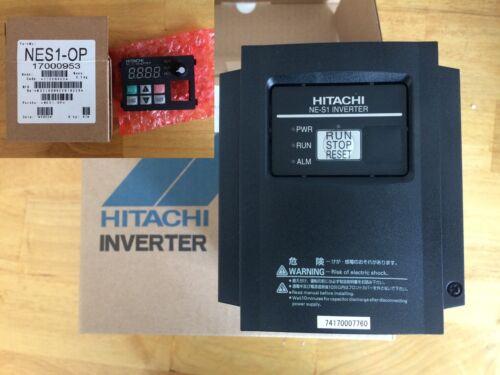 Hitachi NES1-022SB Inverter with Operator NES1-OP 3HP