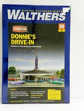 "WALTHERS/CORNERSTONE HO U/A ""DONNIE'S DRIVE-IN"" PLASTIC MODEL KIT"