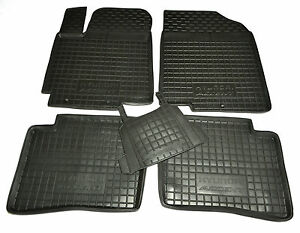 Hyundai-ACCENT-Verna-2010-RB-Rubber-Car-Floor-Mats-All-Weather-Alfombrillas