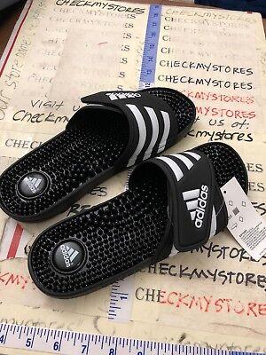 ADIDAS Adissage Women/'s Shower Sandals Athletic Sport 087609 Black sz 9 10